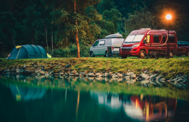 RV Park Camping in Norway