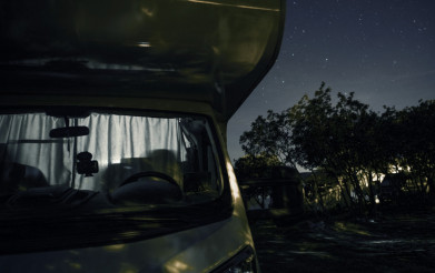 RV Park Starry Night