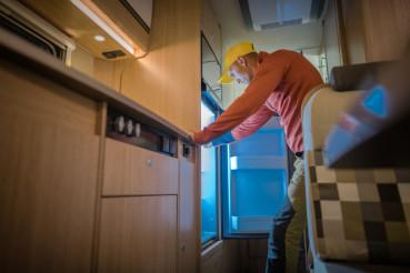 RV Refrigerator Check