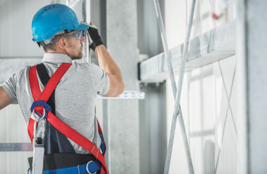 Safety Harness Equipment Job