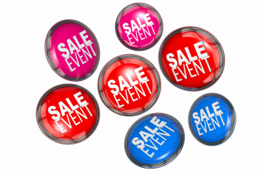 Sale Event Tags