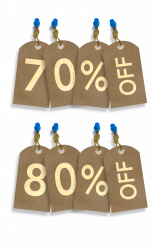 Sales Paper Tags Business Elements PNG Illustration