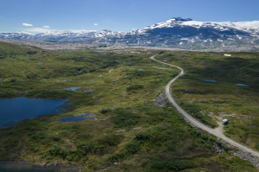 Norwegian Saltfjellet-Svartisen National Park Camper Boondocking