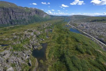 Saltfjellet Svartisen National Park in the Norway