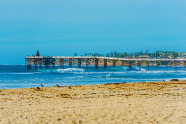 San Diego Beach and Pier