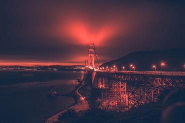 San Francisco Bay and Bridge