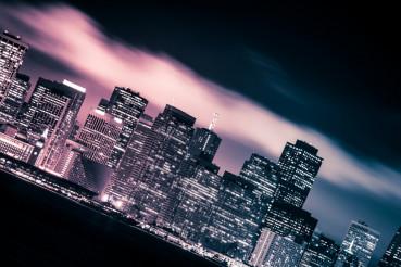 San Francisco Cloudy Skyline