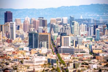 San Francisco Tilt Shift