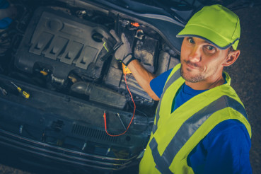 Satisfied Car Mechanic