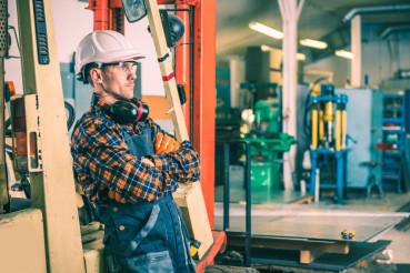 Satisfied Forklift Operator