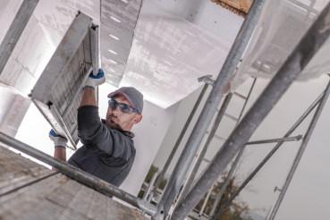 Scaffolding Installation Day