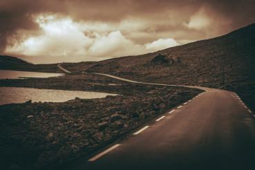 Scenic Alpine Road