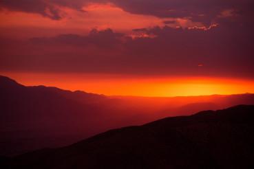 Scenic California Sunset