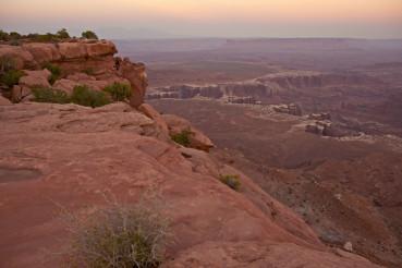 Scenic Canyonlands Utah