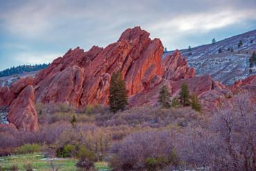 Scenic Colorado Rock