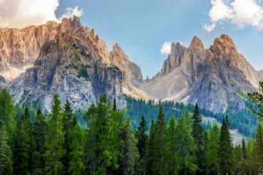 Scenic Dolomites Vista