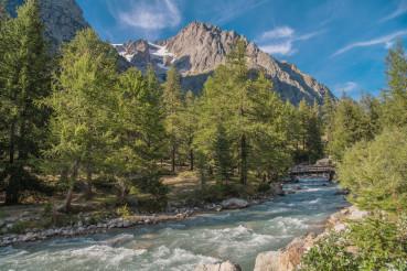 Scenic Italian Alps Summer Landscape