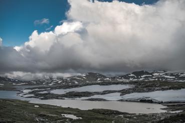 Scenic Landscape of Jotunheimen National Park Region