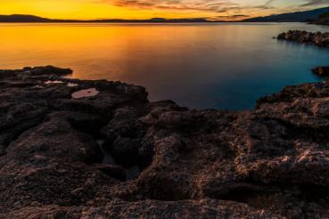 Scenic Mediterranean Sea