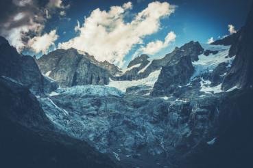 Scenic Mountain Glacier