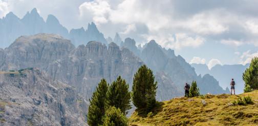 Scenic Mountain Hiking