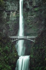 Scenic Multnomah Falls