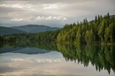 Scenic Nordland County Norway