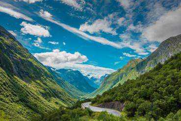 Scenic Norway Landscape