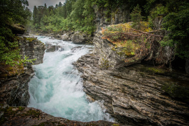 Scenic Norwegian Gorge