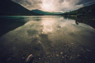 Scenic Norwegian Lake