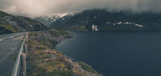 Scenic Norwegian Road