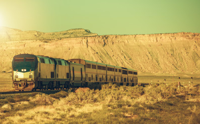 Scenic Railroad Journey Across the United States