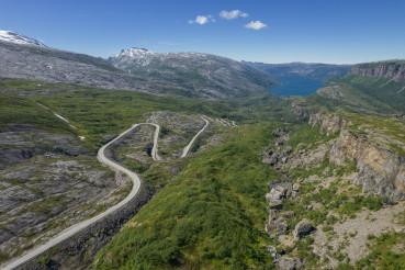 Scenic Saltfjellet Svartisen National Park Norway