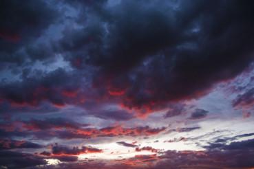 Scenic Sunset Sky