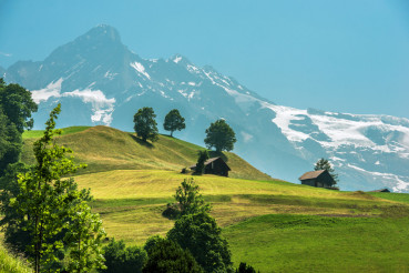 Scenic Switzerland Landscape