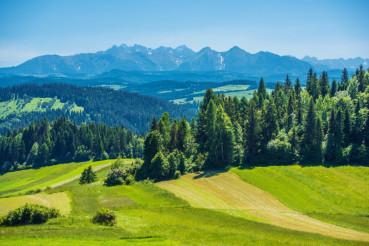 Scenic Tatra Mountains