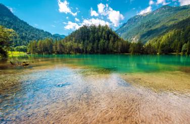 Scenic Tyrol Lake