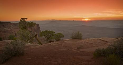 Scenic Utah Sunset