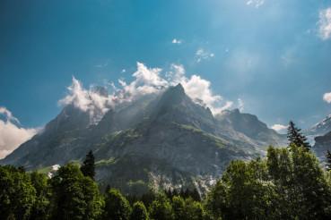 Scenic Wetterhorner Massif
