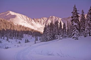 Scenic Winter Colorado