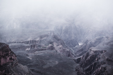 Scenic Winter Grand Canyon