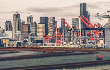 Seattle Skyline Washington