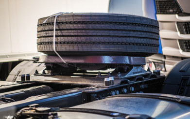 Semi Truck Spare Tire