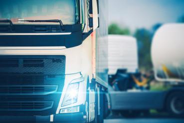 Semi Truckers Parking Rest