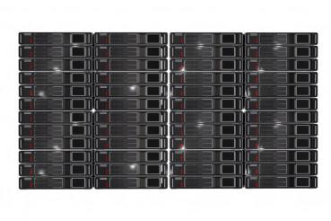 Server Racks Front View