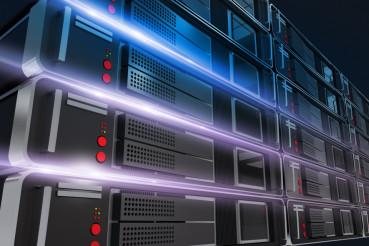Servers Rack Illustration