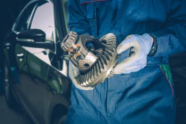 Servicing Broken Car