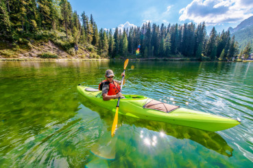 Shallow Lake Kayak Tour