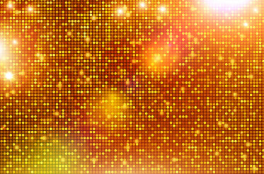 Shiny Golden Background Pattern