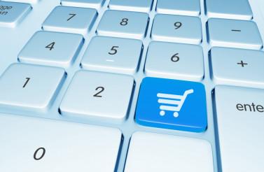 Shopping Online Button